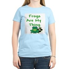 Frogs Are My Thing Ash Grey T-Shirt T-Shirt