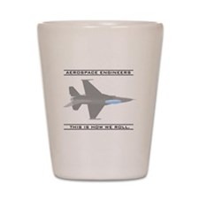 Unique Aerospace engineering Shot Glass