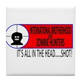 International Brotherhood of Zombie Hunters Tile C