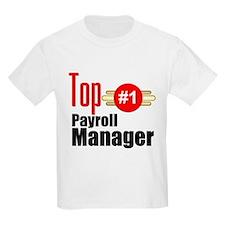 Top Payroll Manager T-Shirt