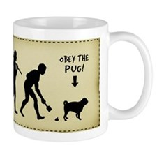 PUG Evolution - Dog Coffee Mug