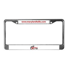 Cute Telecommunications License Plate Frame