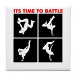 Breakdance Battle Tile Coaster