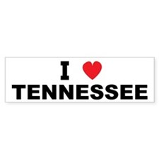 I Love Tennessee Bumper Bumper Sticker