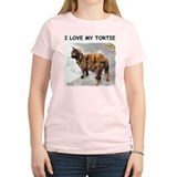 I Love My Tortie Ash Grey T-Shirt T-Shirt