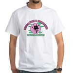 Witches Brew & Broom White T-Shirt
