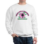 Witches Brew & Broom Sweatshirt