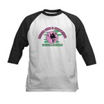 Witches Brew & Broom Kids Baseball Jersey