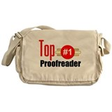 Top Proofreader Messenger Bag