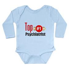 Top Psychiatrist Long Sleeve Infant Bodysuit