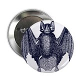 "Bat 2.25"" Button (10 pack)"