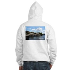Philadelphia Postcard Hooded Sweat: Waterworks
