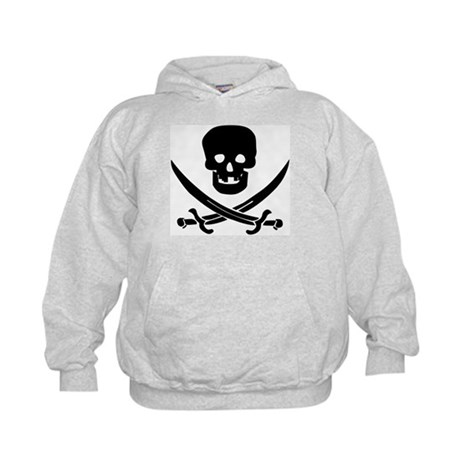 Pirate Fencer Kids Hoodie