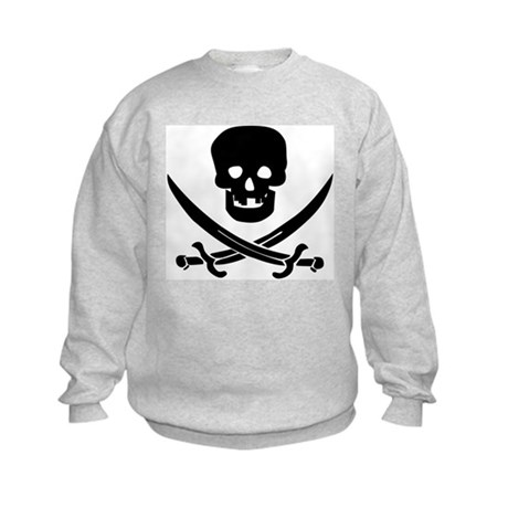 Pirate Fencer Kids Sweatshirt