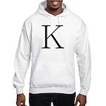 Greek Character Kappa Hooded Sweatshirt