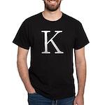 Greek Character Kappa Dark T-Shirt