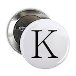 Greek Character Kappa Button