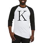 Greek Character Kappa Baseball Jersey