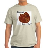 Year of The Pig 1947 Ash Grey T-Shirt