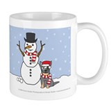 Australian Cattle Dog Winter Mug