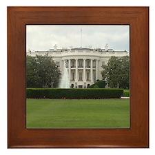The White House Framed Tile