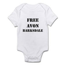 """Free Avon Barksdale"" Infant Bodysuit"