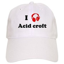 Acid croft music Baseball Cap