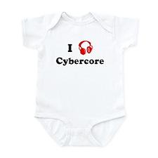 Cybercore music Infant Bodysuit