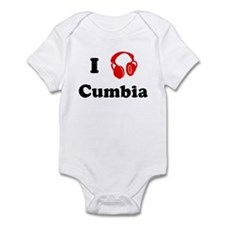 Cumbia music Infant Bodysuit