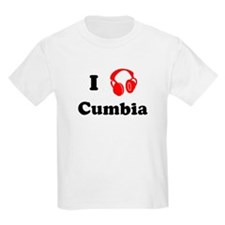 Cumbia music Kids T-Shirt