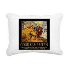 Good Samaritan Rectangular Canvas Pillow