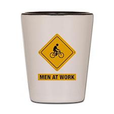 Bicycle Riding Shot Glass