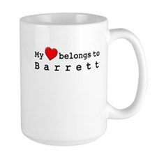 My Heart Belongs To Barrett Mug