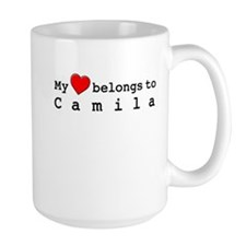 My Heart Belongs To Camila Mug
