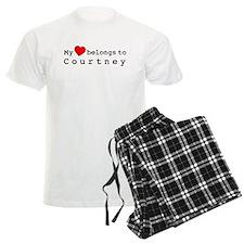 My Heart Belongs To Courtney pajamas
