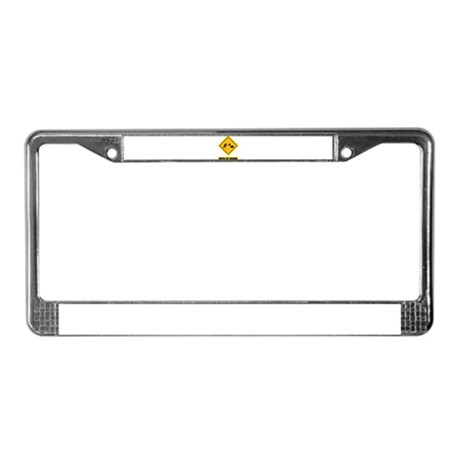 Farmer License Plate Frame