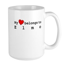 My Heart Belongs To Elmo Mug