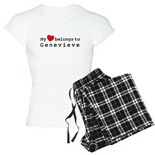My Heart Belongs To Genevieve Pajamas
