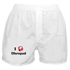 Dhrupad music Boxer Shorts