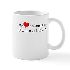 My Heart Belongs To Johnathon Small Mug
