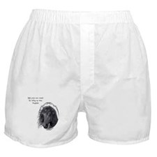 Black Horse Boxer Shorts