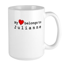 My Heart Belongs To Julianne Mug