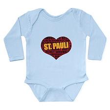 St. Pauli, Hamburg Long Sleeve Infant Bodysuit