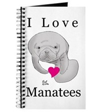 I Love Manatees Journal