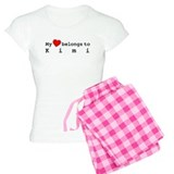 My Heart Belongs To Kimi pajamas