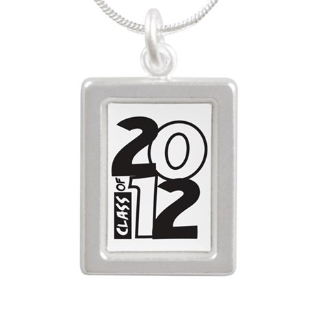 BIG Class of 2012 Silver Portrait Necklace