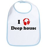 Deep house music Bib