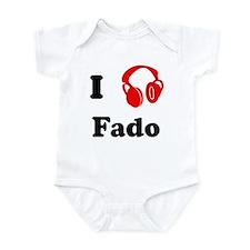 Fado music Infant Bodysuit