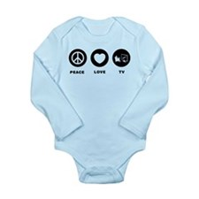 TV Watching Long Sleeve Infant Bodysuit