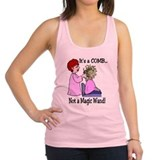 Its a comb not a wand!.png Racerback Tank Top
